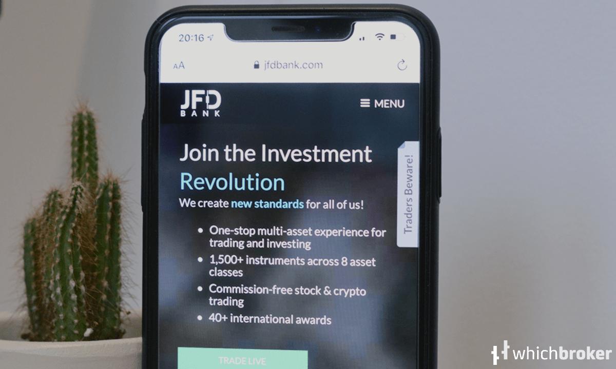JFD Bank Broker Review