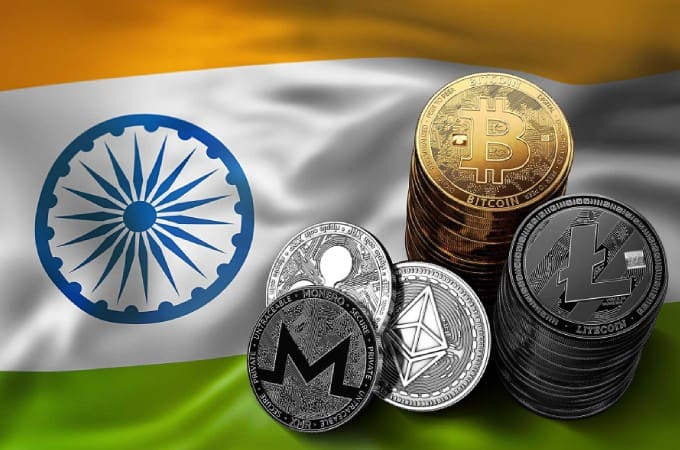 India Crypto Protests