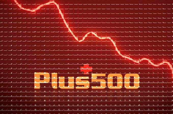 Plus500 Revenues Crash