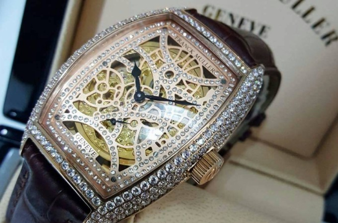 Franck Muller Launches Encrypto Watch