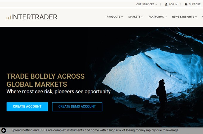 InterTrader New Website