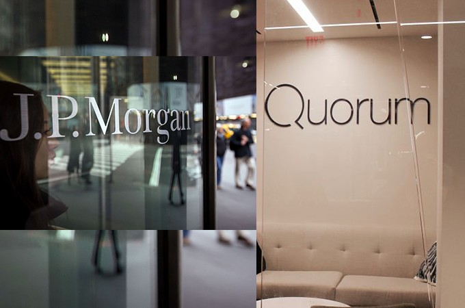 "JPMorgan Introduces ""Quorum"""