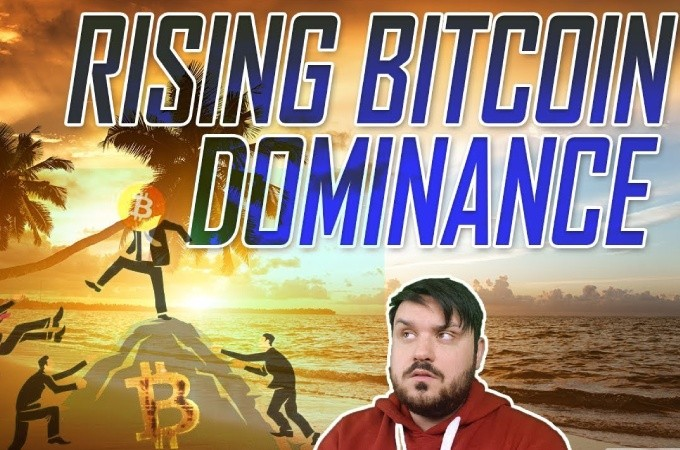 Bitcoins Dominance Rising Slowly