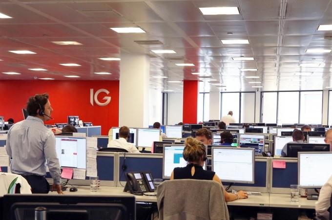 ig group, net trading revenue, ig group holdings plc