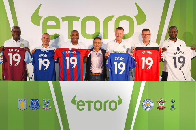 ultimate fighting championship Sponsorship Deal with eToro