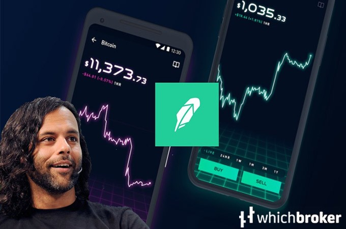 Robinhood Bank Application, baiju bhatt and vlad tenev