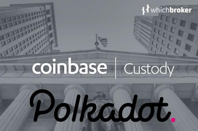coinbase custody platform Polkadot Network