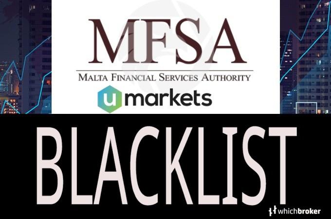 malta financial services authority Blacklists UMarkets