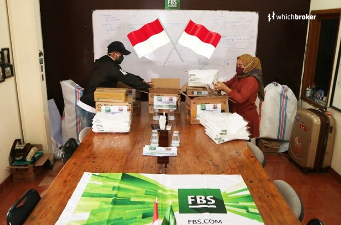 Charity Event Held by FBS to Buy Health Supplies in Indonesia